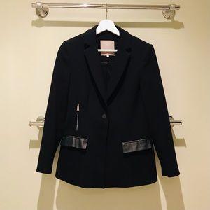 ❣️SOLD❣️Classic Single Button Black Blazer